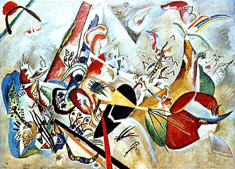 a biography of the life and painting works of wassily kandinsky