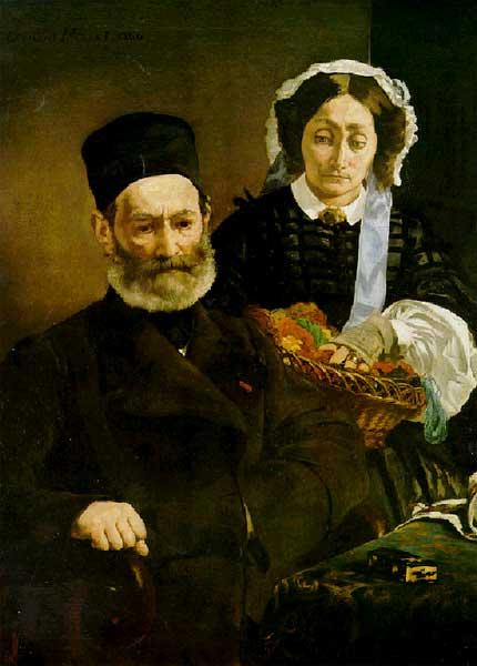 Портрет господина и госпожи Мане, 1860г.