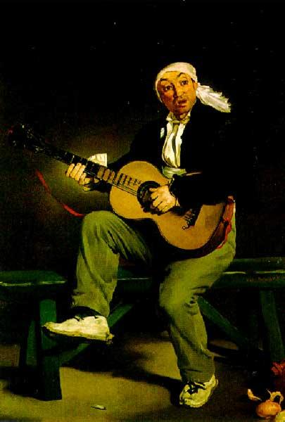 Испанский певец, 1860г.