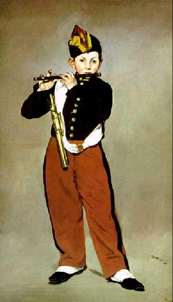 Флейтист, 1866г.